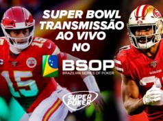 Jogadores assistirão ao Super Bowl no salão do BSOP Brasília
