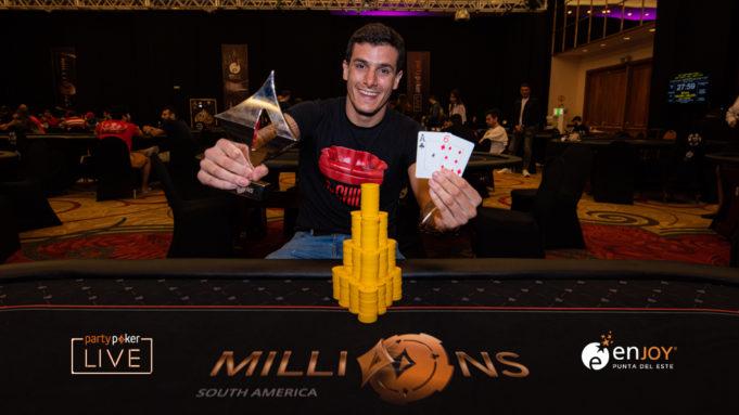 Esteban Gomez - Campeão Closer - MILLIONS South America