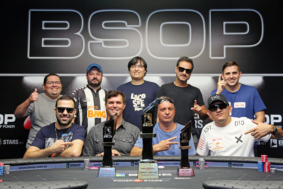 Mesa Final do Main Event do BSOP Brasília