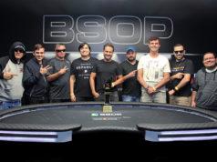 Mesa Final do Main Event do BSOP Brasília