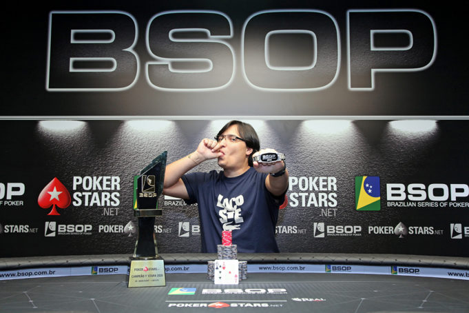 Fernando Araujo campeão do Main Event do BSOP Brasília