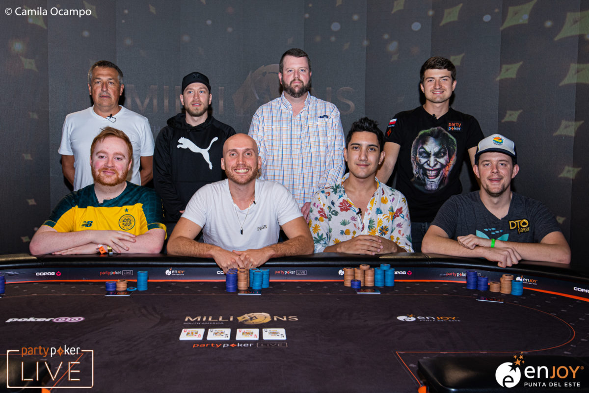 Mesa Final Super High Roller - MILLIONS South America