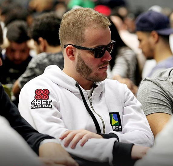 Flávio Lima (Foto: 4-Bet Poker Team)