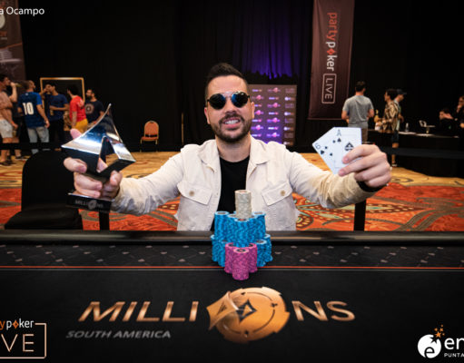 Farid Jattin - Campeão High Roller Finale - MILLIONS South America