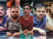 João Simão, Pedro Padilha, Pablo Brito, Will Arruda e Pedro Garagnani