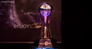 Troféu do Main Event do MILLIONS South America