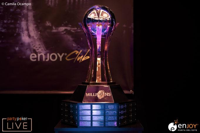 Troféu do Main Event do MILLIONS South America