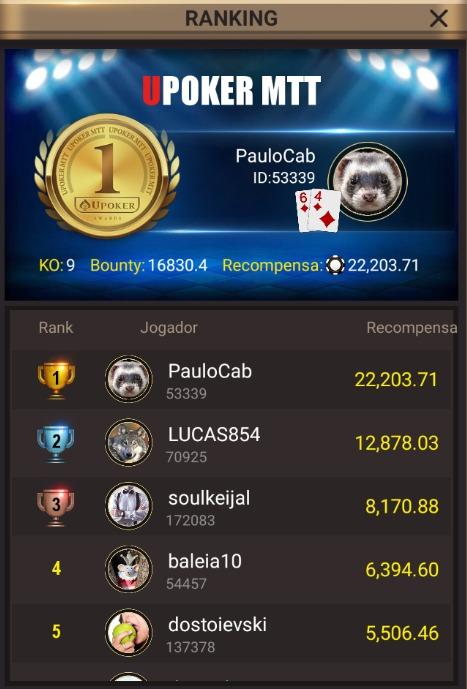 PauloCAB - Liga Online H2 Brasil