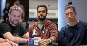 Rodrigo Garrido, Felipe Balaban e Renato Kaneoya