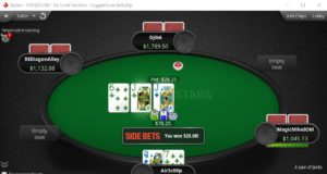 Side Bets no PokerStars