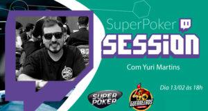 "SuperPoker Session com Yuri ""tecaoo"" Martins"
