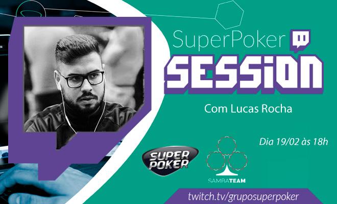 SuperPoker Session com Lucas