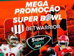 Promoção SuperJogos e BetWarrior