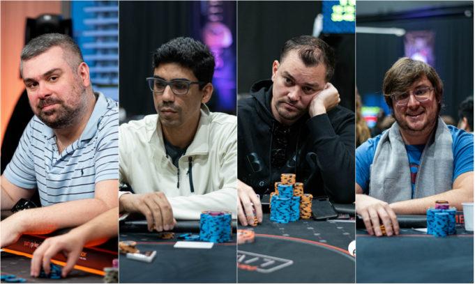 Fabio Colonese, Pablo Brito, Rafael Caiaffa e Pedro Madeira
