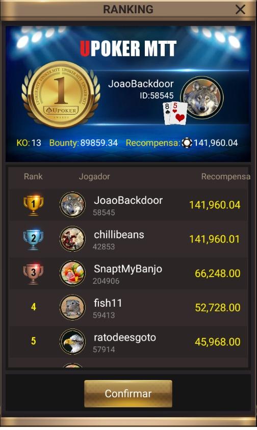 """""""JoaoBackdoor"""" - Liga Online H2 Brasil"""