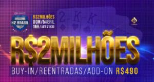 Torneio de R$ 2 milhões - Liga H2 Online
