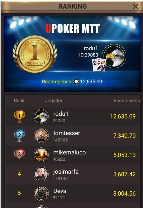 """""""rodu1"""" - Liga Online H2 Brasil"""