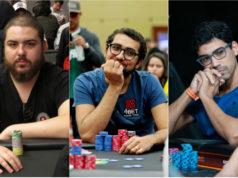 Danilo Demétrio, Rafael Moraes e Pablo Brito