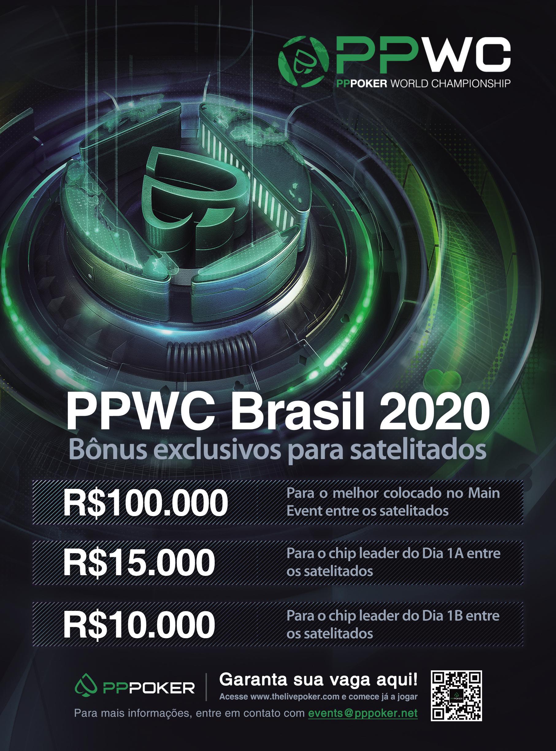 Prêmios para os satelitados do PPWC