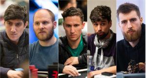 Ivan Luca, Sam Greenwood, Daniel Dvoress, Sergi Reixach e Wiktor Malinowski