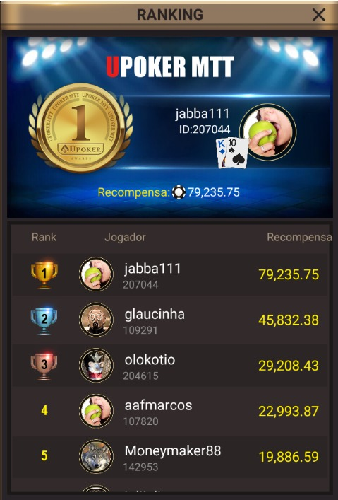 """""""Jabba111"""" - Liga Online H2 Brasil"""