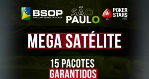 Mega Satélite para o BSOP São Paulo