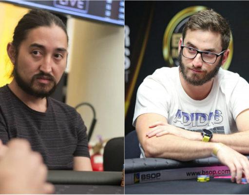 Rodrigo Seiji e Pedro Garagnani