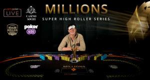 Sam Trickett campeão do Evento #2 do MILLIONS SHR Series