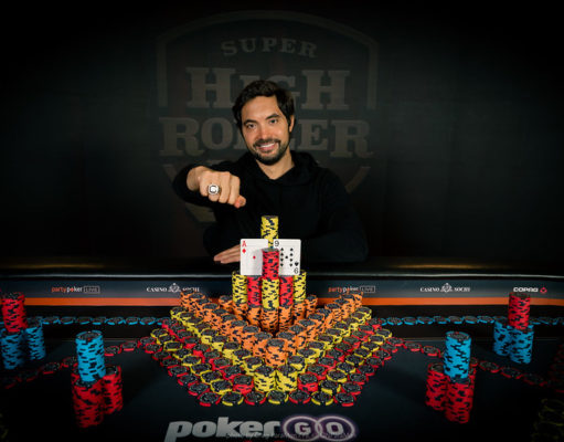 Timothy Adams campeão do Super High Roller Bowl Rússia