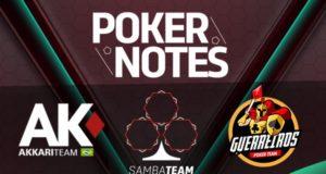 Poker Notes com times de poker
