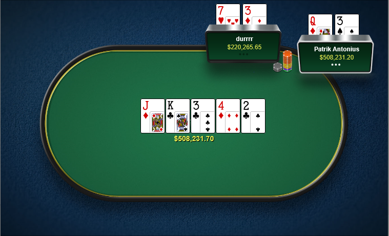 Patrick Antonius vs Tom Dwan - HighStakesDB