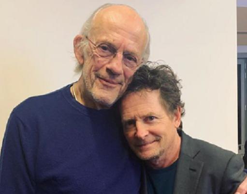 Christopher Lloyd e Michael J. Fox