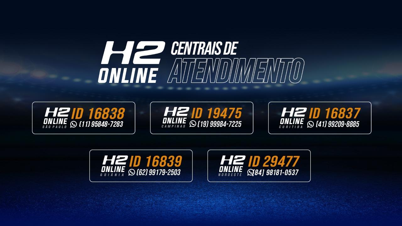 Centrais de Atendimento - H2 Online