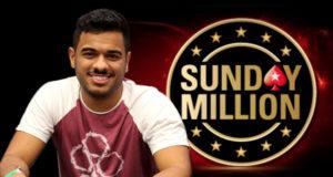 Gabriel Tavares campeão do Sunday MIllion