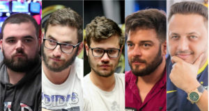 Pedro Padilha, Pedro Garagnani, Kelvin Kerber, Fabiano Kovalski e Alex Brito