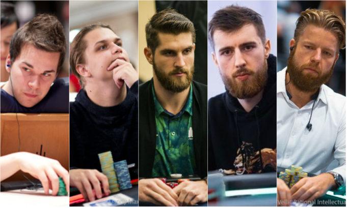 Sami Kelopuro, Niklas Astedt, Matas Cimbolas, Wiktor Malinowski e Jorryt van Hoof