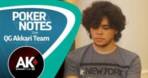"""QG Akkari Team: """"Resiliência e paciência no poker"""", por Gabriel Tosta"""