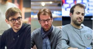 Fedor Holz, Christoph Vogelsang e Pascal Lefrançois