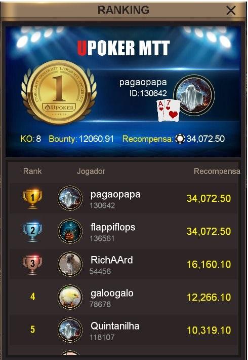 """PagaoPapa"" - Liga Online H2 Brasil"