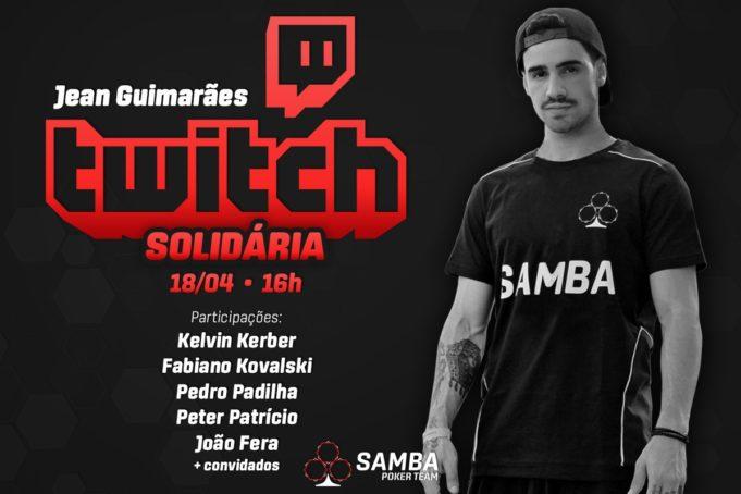 Stream Solidária - Samba Poker Team