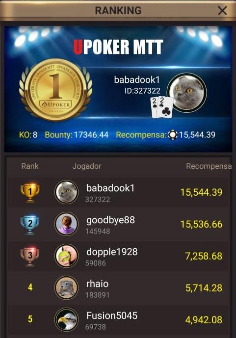 """""""Babadook1"""" - Liga Online H2 Brasil"""