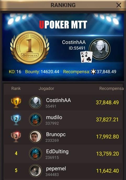 """CostinhAA"" - Liga Online H2 Brasil"