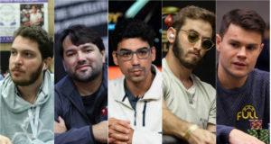 Francisco Correia, Ricardo Souza, Pablo Brito, Pedro Garagnani e Gustavo Mastelotto