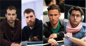 Pascal Lefrancois. Wiktor Malinowski, Daniel Dvoress e Juan Pardo Dominguez