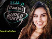 Eduarda Schimieguel - Campeã 2º torneio SuperPoker Team Pro
