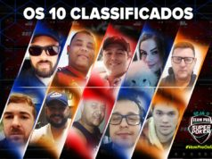 SuperPoker Team Pro - 10 classificados de maio