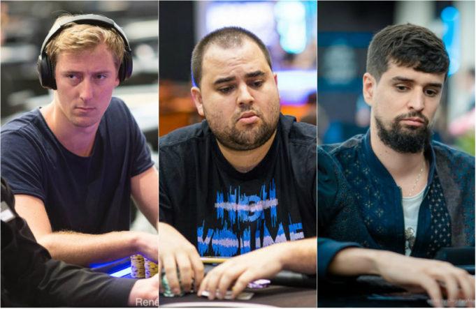 Jans Arends, Chris Hunichen e Sergi Reixach