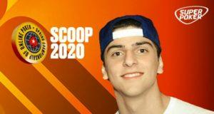 Cristian Vilas Boas, campeão do Main Event Second Chance Low do SCOOP 2020