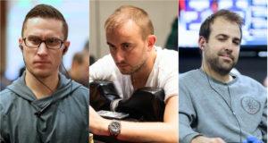 Daniel Dvoress, Mikalai Vaskaboinikau e Pascal Lefrançois