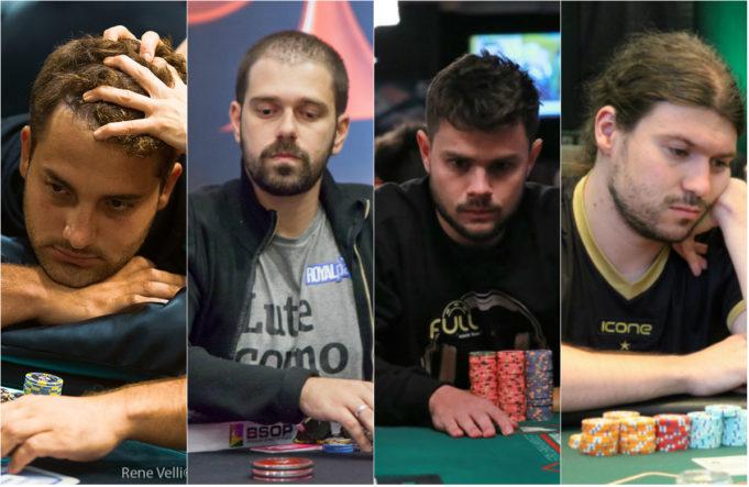 João Simão, Felipe Boianovsky, Gustavo Mastelotto e Alfeu Bueno